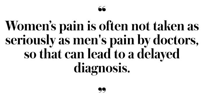 womens pain