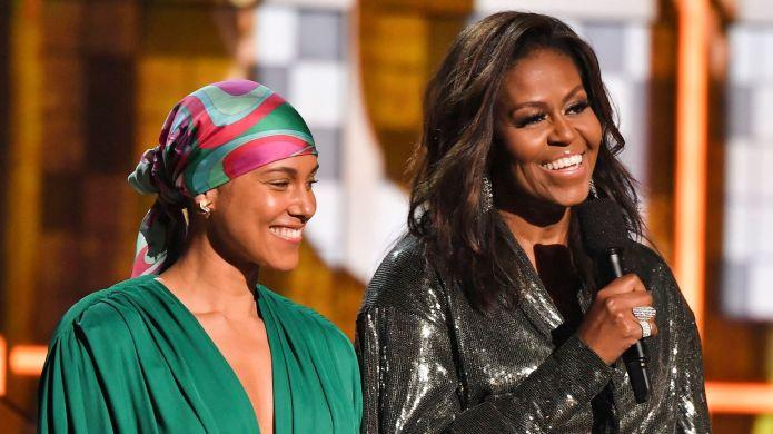 photo of Michelle Obama and Alicia