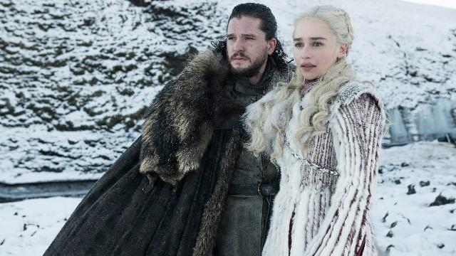 New photo Jon Snow Daenerys