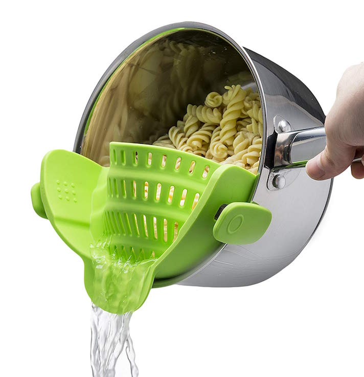 The 15 Best Kitchen Products You Can Get for $15 or less: Kitchen Gizmo Snap 'N Strain Strainer