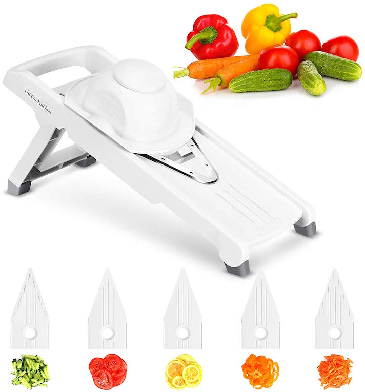 The 15 Best Kitchen Products You Can Get for $15 or Less: Utopia Kitchen 5-Blade Adjustable Mandolin Slicer