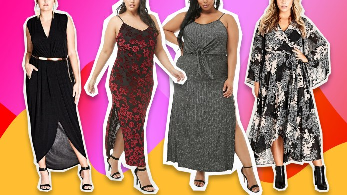 Plus-Size Winter Maxi Dresses to Snag