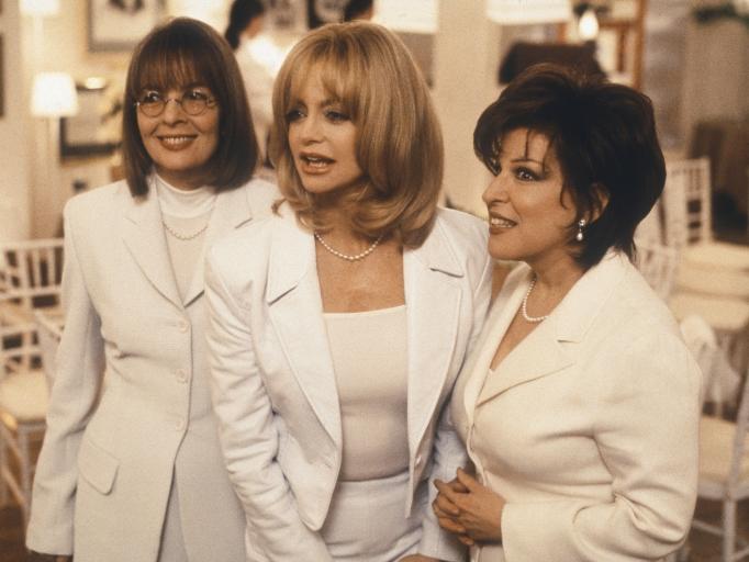 Breakup movie 'The First Wives Club' Diane Keaton Goldie Hawn Bette Midler
