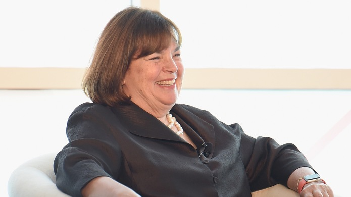 photo of ina garten laughing