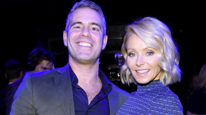 Andy Cohen and Kelly Ripa attend