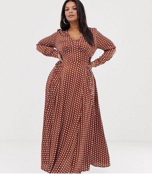 Glamorous Maxi Wrap Dress