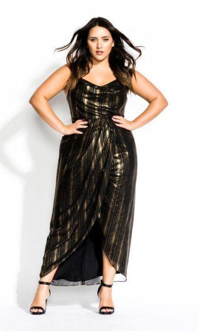 Glitter Lines Dress
