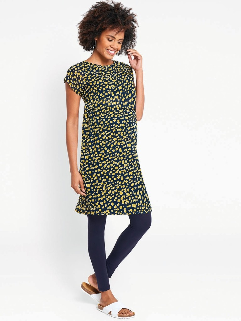 e20f0c48caf88 Dressing up needn't come saddled with breastfeeding drama. This bright  young thing — which also doubles as a maternity dress — comes with hidden  nursing ...