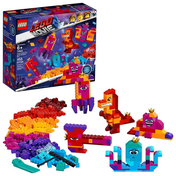 The LEGO Movie 2 Queen Watevra's Build Whatever Box!