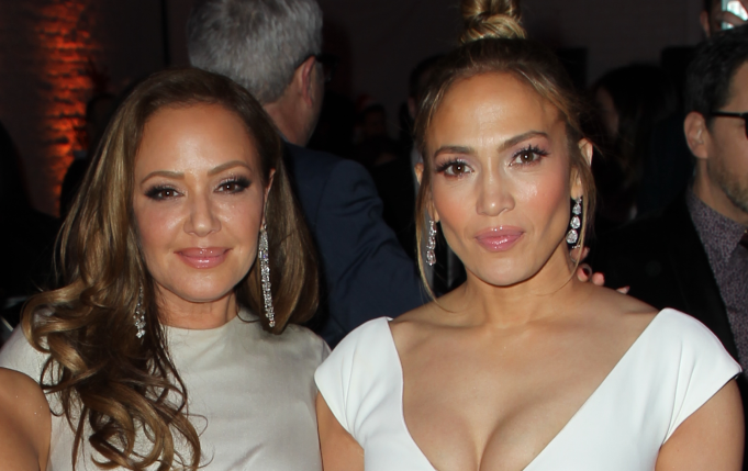Leah Remini and Jennifer Lopez