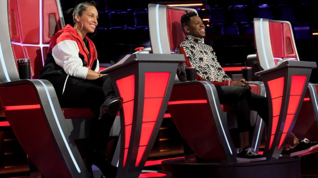 Photo of Chris Blue on 'The Voice'