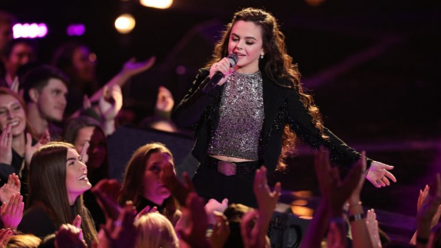 Photo of Chevel Shepherd on 'The Voice'