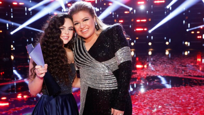 The Voice 2018 winner with Kelly