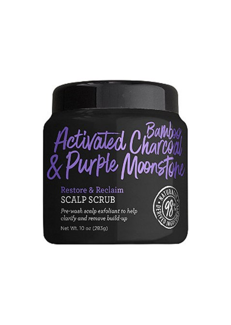 Not Your Mother's Naturals Activated Bamboo Charcoal & Purple Moonstone Scalp Scrub