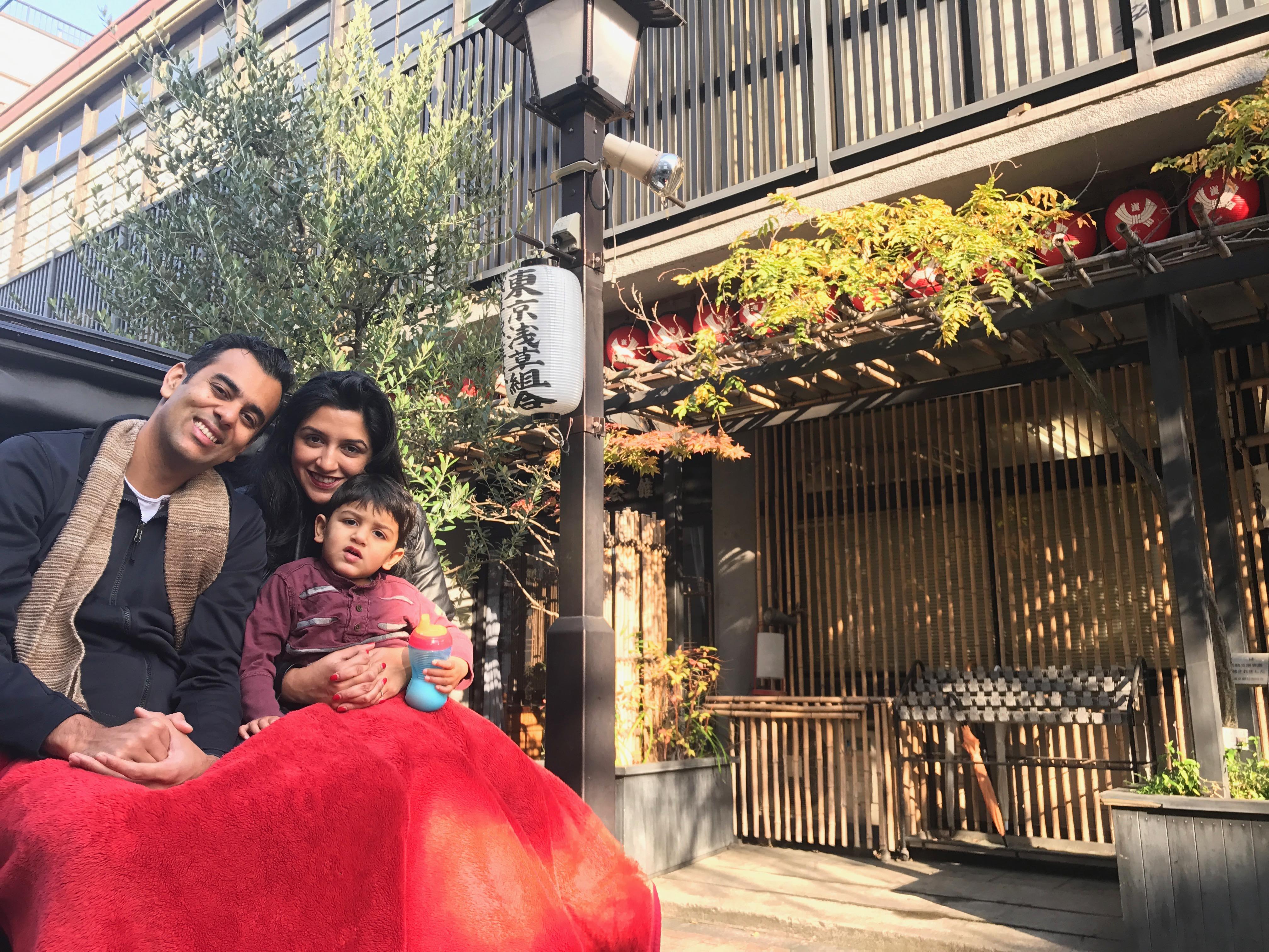On a Rickshaw tour of Tokyo