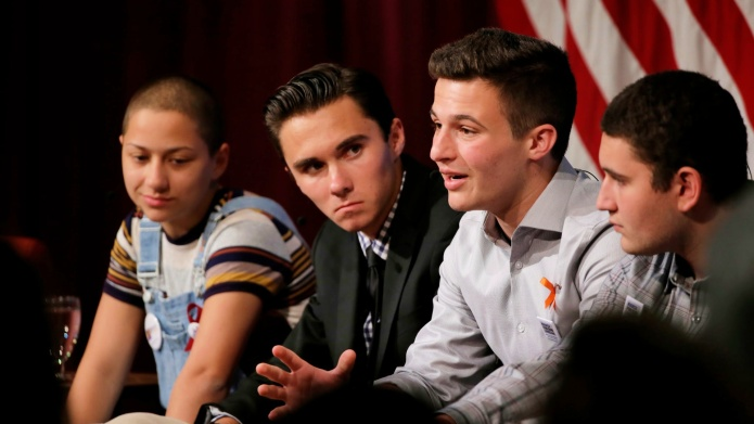 Parkland Students Speak Against Mass Shootings