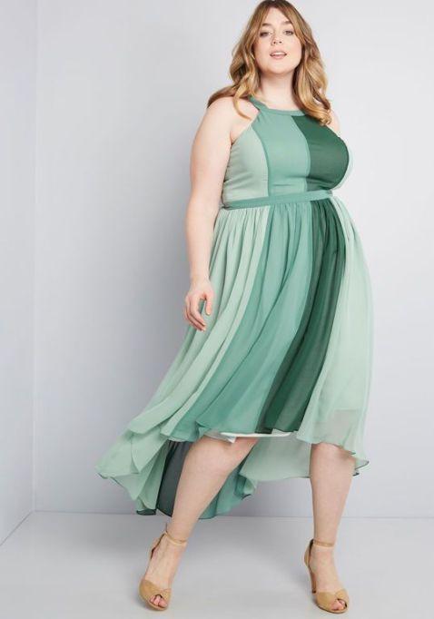 Peachy Queen Maxi Dress