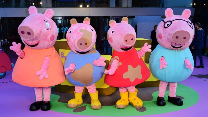 Peppa Pig Costumed Characters