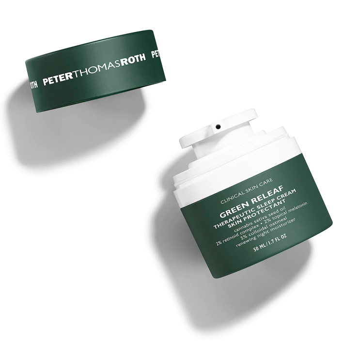 Peter Thomas Roth Green Releaf Theraputic Sleep Cream Skin Protectant