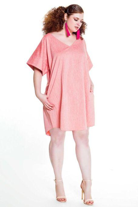 Poplin Mini Tunic Dress