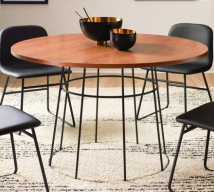 Walmart MoDRN Industrial Griffin Round Dining Table