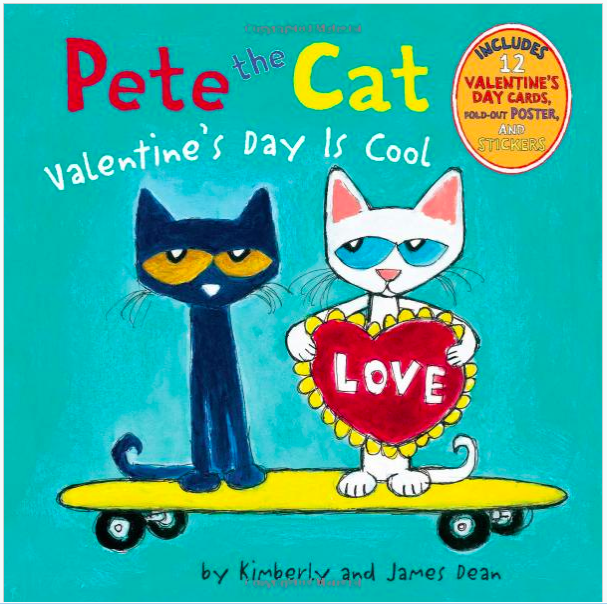 pete the cat valentine's day is cool