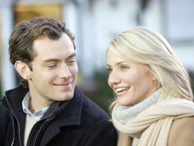 breakup movie 'The Holiday' Jude Law Cameron Diaz
