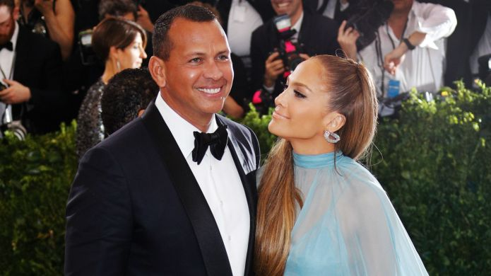 Photo of Alex Rodriguez and Jennifer