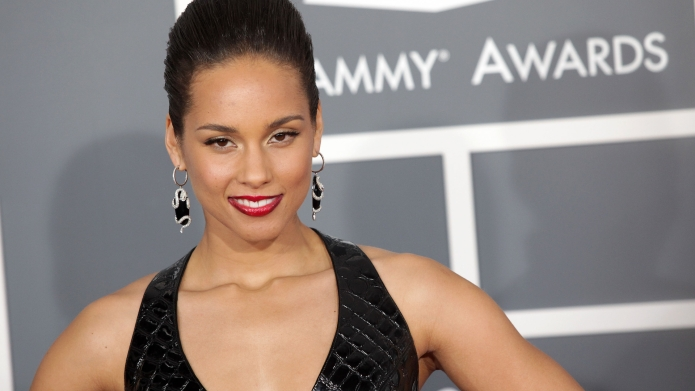 Alicia Keys arrives at the 2013