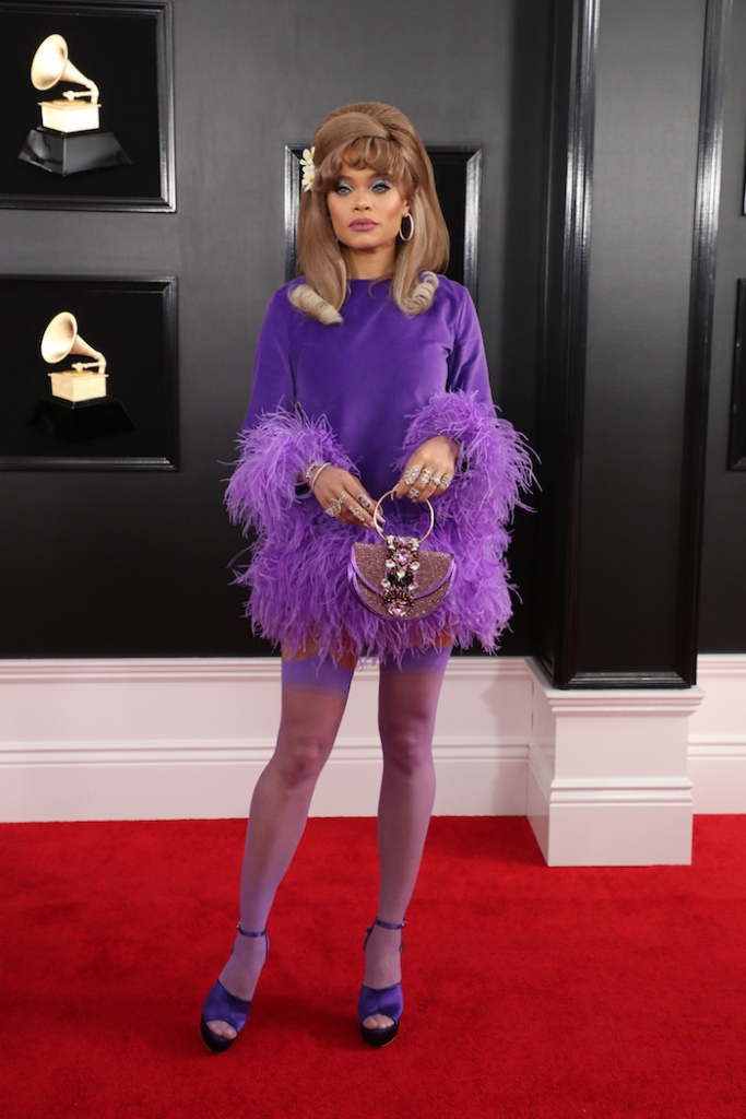 Andra Day61st Annual Grammy Awards, Arrivals, Los Angeles, USA - 10 Feb 2019