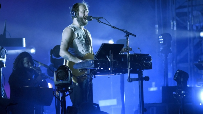 Justin Vernon of Bon Iver performs during the 2018 Bonnaroo Music & Arts Festival on June 9, 2018 in Manchester, Tennessee.