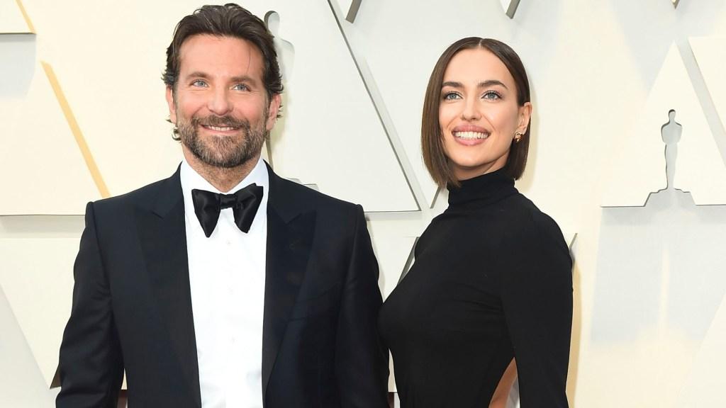 Bradley Cooper and Irina Shayk at the 2019 Oscars.