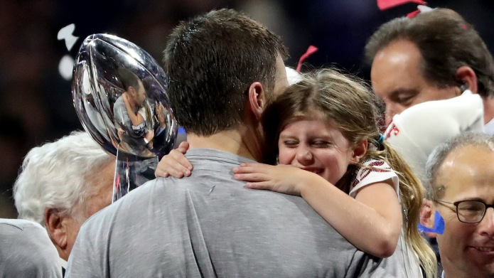 Flipboard Tbh Tom Brady S Daughter Actually Won The Super