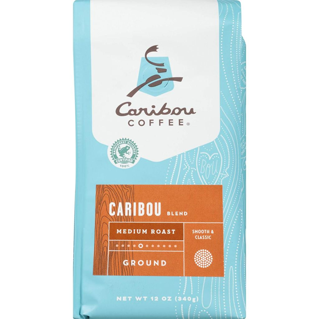 Caribou Coffee grocery store coffee.