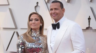 Jennifer Lopez and Alex Rodriguez at