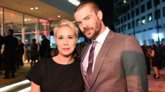 Liza Weil and Charlie Weber at