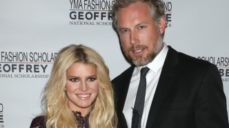 Jessica Simpson and Eric Johnson The