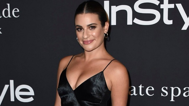 Lea Michele attends the 4th Annual InStyle Awards