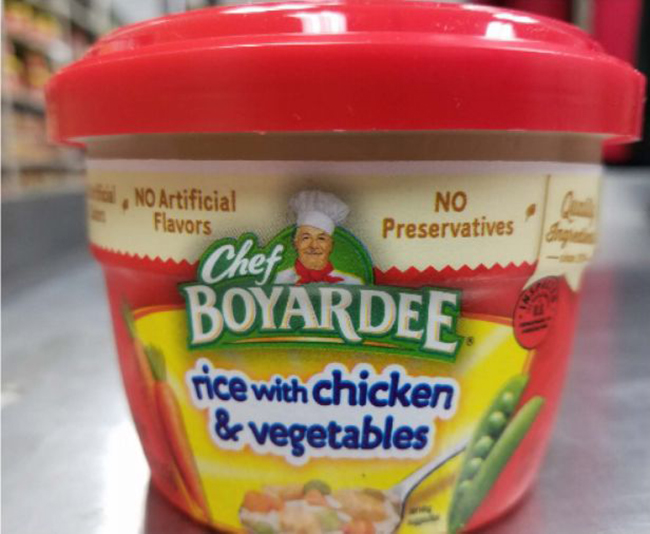 Chef Boyardee Rice With Chicken