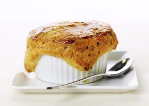 photo of Wolfgang Pucks chicken pot pie