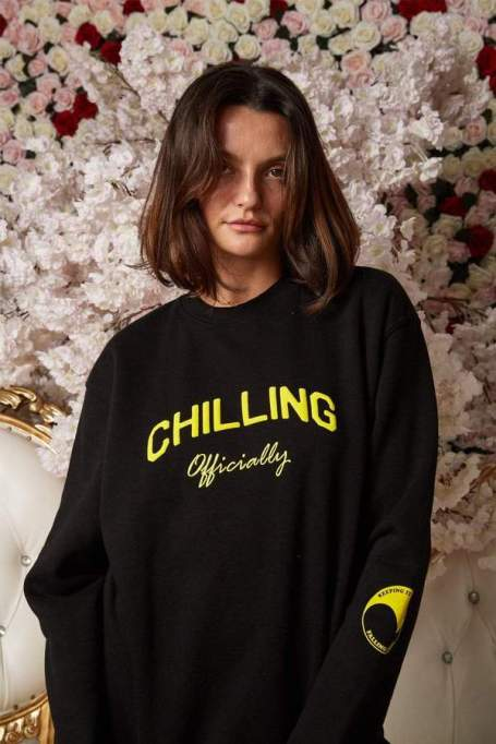 'Chilling Officially' sweater