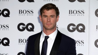 Chris Hemsworth arrives at the British