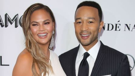 Photo of Chrissy Teigen and John