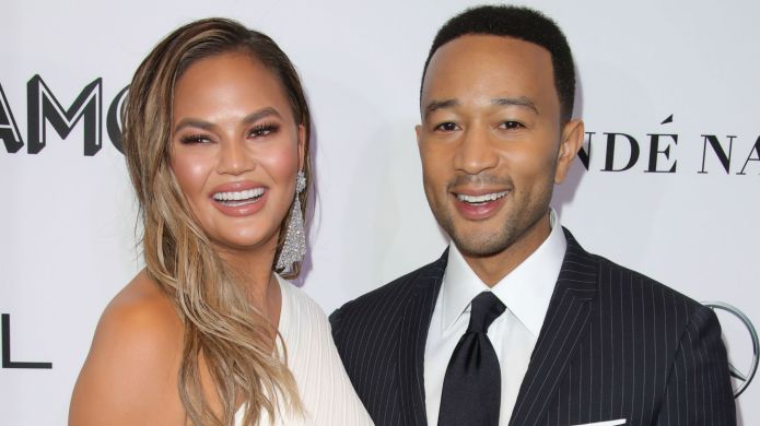Chrissy Teigen & John Legend Fought About Pizza Rolls, & She Tweeted The Whole Thing – SheKnows