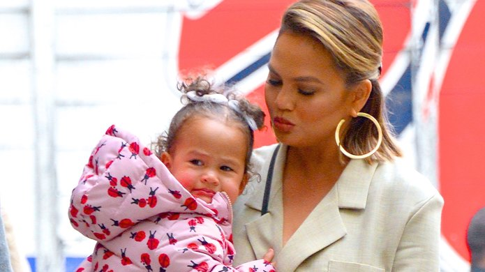 Chrissy Teigen's Daughter, Luna, Just Had