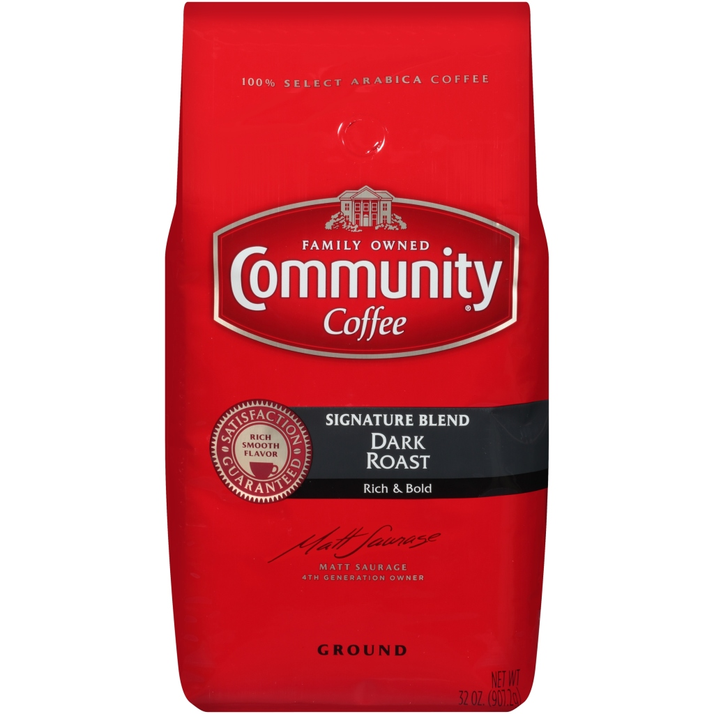 Community Coffee grocery store coffee.