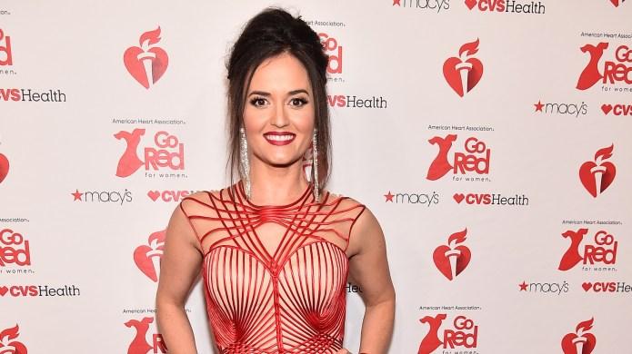 Danica mckellar red dress collection fashion