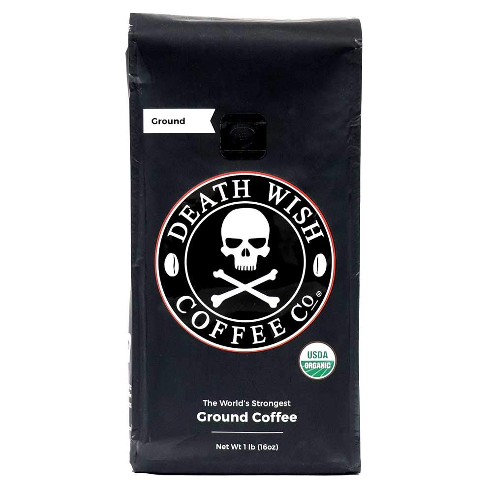 Death Wish Coffee Co. grocery store coffee.