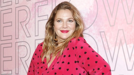 Drew Barrymore at the launch event