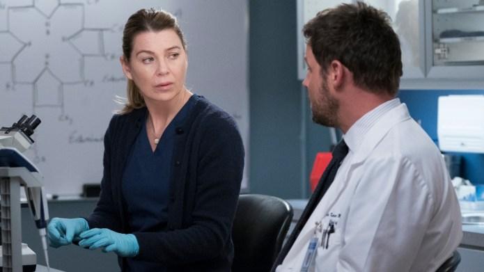 Ellen Pompeo on 'Grey's Anatomy.'
